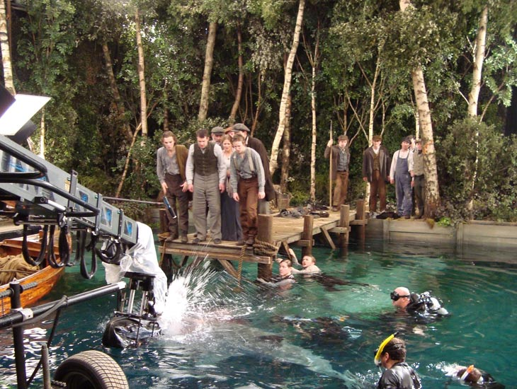 Forest Dressing Underwater Stage