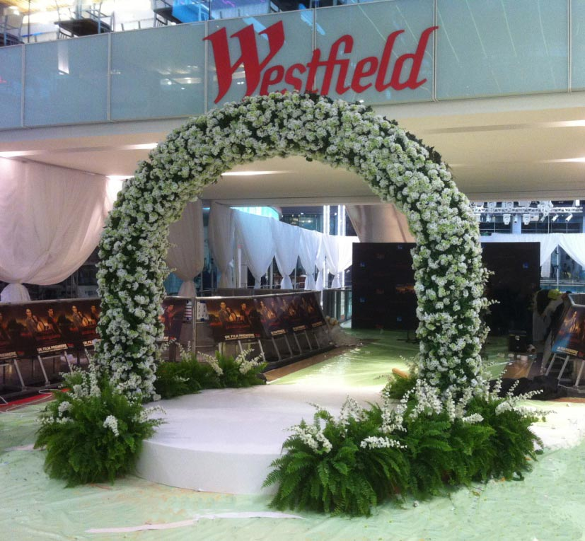 Palmbrokers - Parties & Events Portfolio - Large Flower Arch